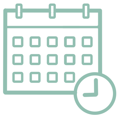 icona calendario e tempo