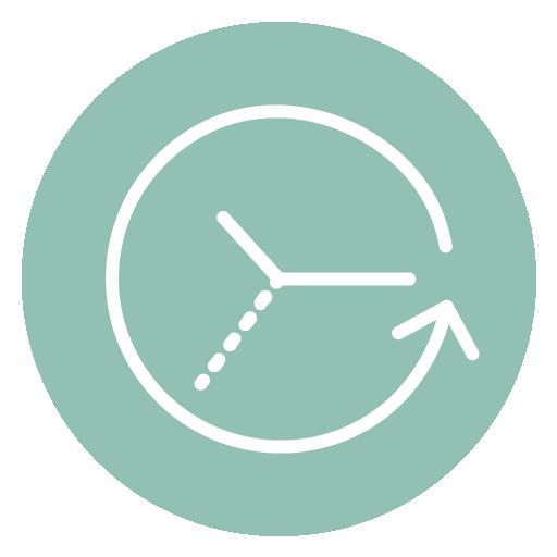 icona della riduzione del tempo di compravendita